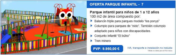 parque infantil temtico en oferta